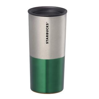 星巴克 Starbucks Boyd 銀綠 不鏽鋼杯