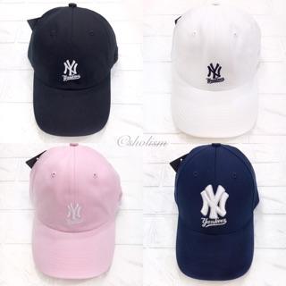 正品✨ NY 洋基Yankees 風立體刺繡logo 棒球帽老帽黑白