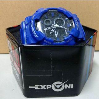 【出清】EXPONI 3187 雙顯 防水 運動手錶/賽車石英錶/各類運動錶/法拉利時尚手錶