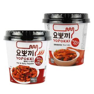 韓國 YOPOKKI 辣炒年糕 隨身杯 140g 進口/辛辣/泡麵/沖泡/即食