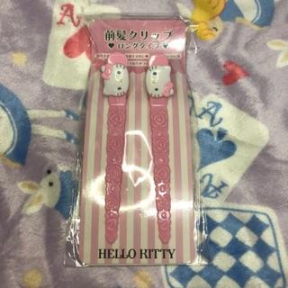 Sanrio 三麗鷗HELLO KITTY 髮夾/2入