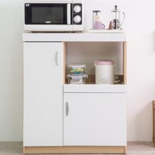 ☆-【1698免運費】鏡面雙門五格廚房收納櫃