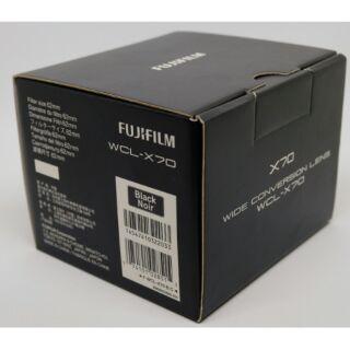 富士 fujifilm 廣角鏡x100系列專用wcl-x70