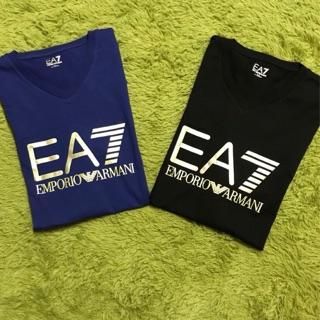EA7 大logo 短T