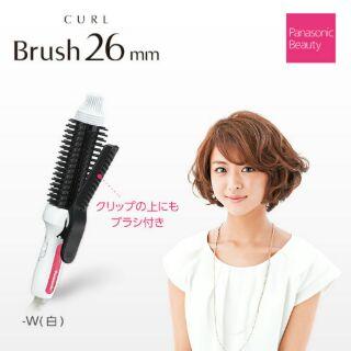 【現貨】日本Panasonic國際牌造型捲髮器EH-HT45 梳子款 26mm 捲髮棒