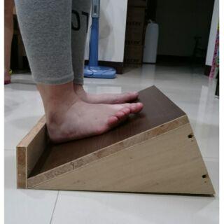 老師傅純手作 櫻桃木 木頭 拉筋板 瘦腿