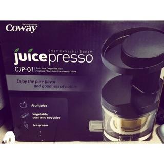Coway 慢磨原汁機 果汁機 CJP01 豆漿 生菜果汁機