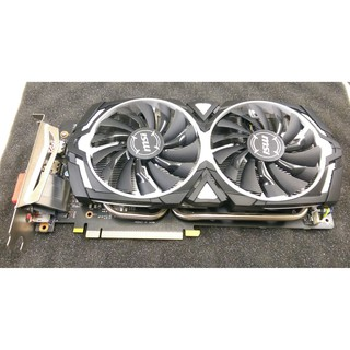 出售二手MSI GeForce GTX 1060 ARMOR 6G OCV2