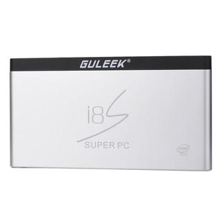 GULEEK i8S WIN10&Android 雙系統 智慧電腦電視盒-銀色