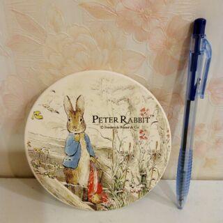 彼得兔陶土吸水杯墊