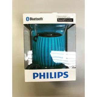 PHILIPS飛利浦無線隨身藍牙喇叭 SBT30 藍色 可充電