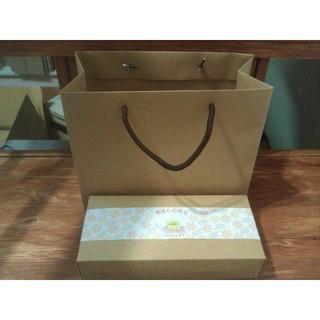◤  好盒  ◢  D-16110 鳳梨酥盒用-素面牛皮紙手提袋  禮盒  現貨