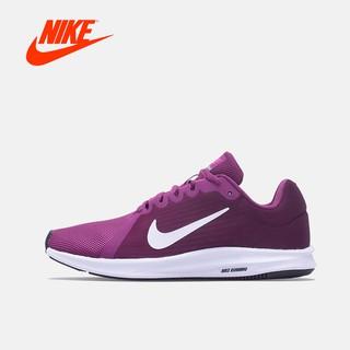 NIKE 女鞋新款7.8折DOWNSHIFTER8 紫白輕量避震慢跑鞋908994600原價2400