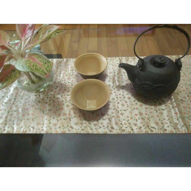 平安茶壺加茶杯 (鶯歌陶瓷工藝)