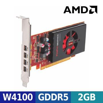 AMD FirePro™ W4100 工作站繪圖顯示卡 (ㄧ年保固)