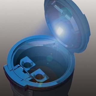 [Seanna] 日本精品 NAPOLEX Fizz-975 科技時尚太陽能菸灰缸(黑) 菸灰缸/車用菸灰缸