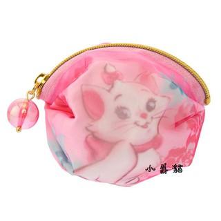 少女心大爆發 日本帶回 迪士尼 瑪莉貓 貓兒歷險記 貓咪 蝴蝶結 迷你 零錢包 口紅 補妝 飾品收納 小包 交換禮物