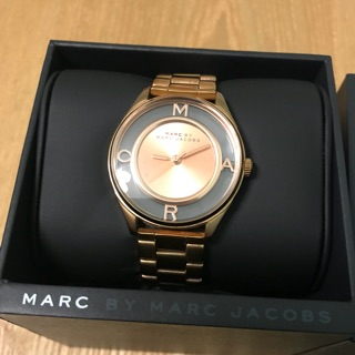 Marc by Marc Jacobs 玫瑰金鏤空錶