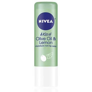 Nivea, 橄欖油 & 檸檬之吻,護唇,0.17 盎司(4.8 克)
