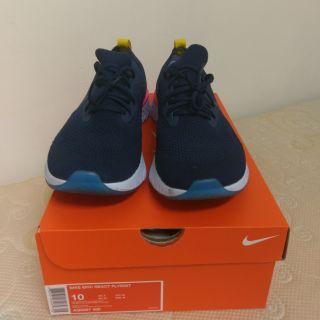 Nike epic react flyknit 藍 us10 AQ0067400