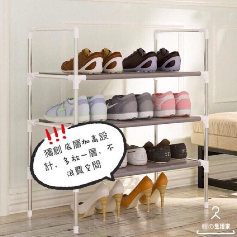 現貨-簡約鞋架 MUJI風 鞋架 鞋架鞋櫃 鞋架 簡易 組裝家用宿舍用防塵經濟型小號鞋架布鞋櫃收納架DIY鞋架