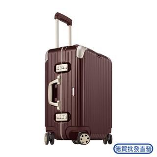 RIMOWA 22吋 Limbo 歐規登機箱行李箱寶石紅色 881.56.34.4