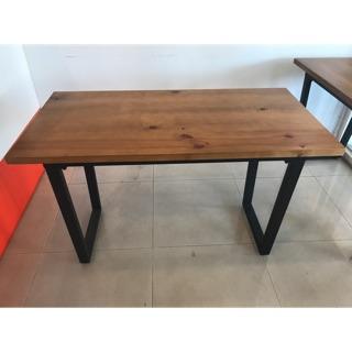 工業風 餐桌 四人桌 實木桌