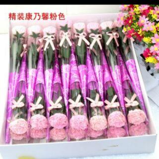 康乃馨香皂花,一支10元
