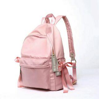 超時尚的韓國流行緞帶後背包 學生背包♥♥
