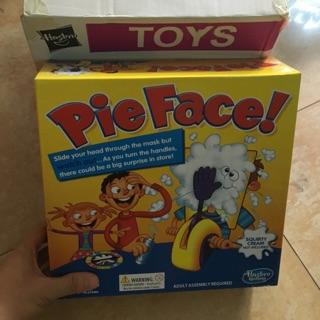 正版公司貨 孩之寶 Pie Face Game砸派機男女孩 砸臉機 奶油打臉機整蠱玩具 大量現貨 2天到貨