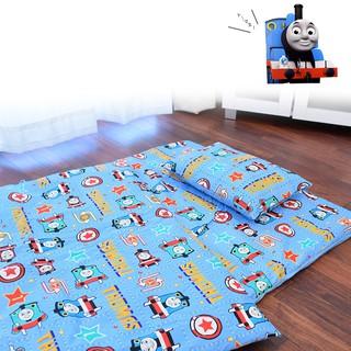 米妮媽咪 預購 日本東京西川2018新款 湯瑪士小火車幼兒園|嬰幼兒用睡袋睡墊7件組 幼稚園超好用