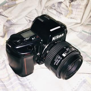 Nikon F90 高階底片機 送堪用35-70鏡頭