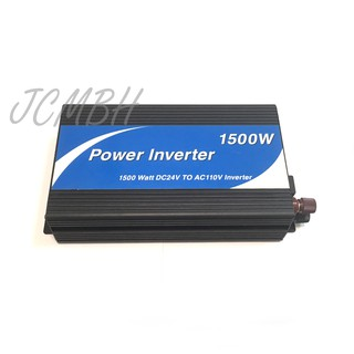 出清特價 POWER Inverter 1500W DC24V to AC110V 變壓器 附原廠說明書