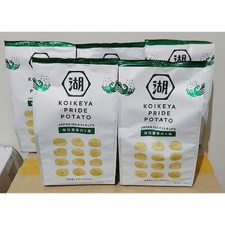 日本 湖池屋 KOIKEYA PRIDE POTATO 秘傳洋芋片 63g 海苔