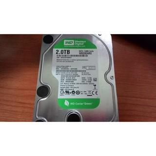 WD 2TB 綠標 硬碟