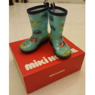 日本mikihouse雨鞋14cm