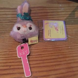 史黛拉兔 鑰匙伸縮 識別證吊飾