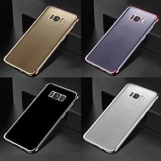 Samsung Galaxy S8 / Samsung Galaxy S8 plus 電鍍透明保護軟殼