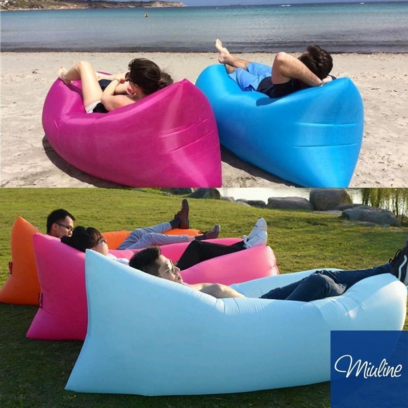 miuline 加厚雙層耐磨懶人沙發空氣沙發 充氣沙發懶人床午休躺椅