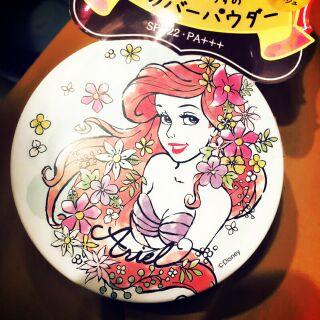 日本It's demo 迪士尼小美人魚 防曬蜜粉