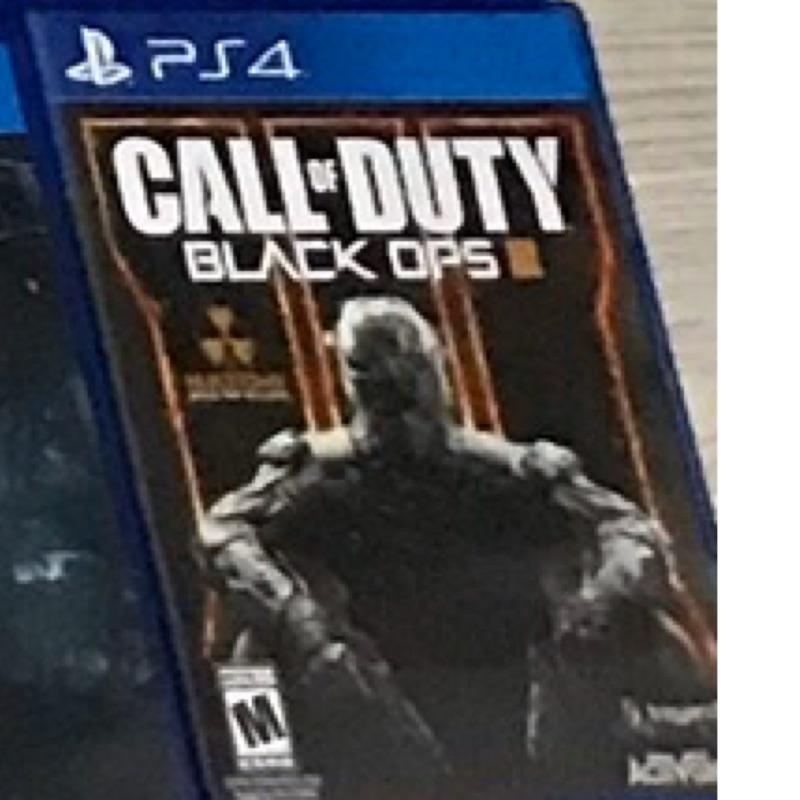 PS4 決勝時刻黑色行動3英文版