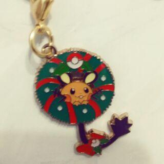 神奇寶貝 精靈寶可夢 2016聖誕節金屬吊飾系列—咚咚鼠