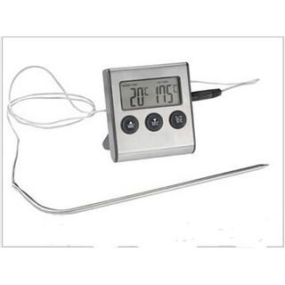 外銷廚房食品溫度計 帶計時器功能探針食品溫度計 燒烤溫度計 煮糖溫度計