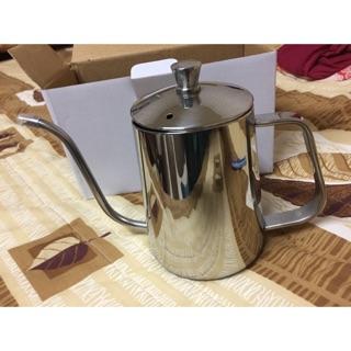 全新304不鏽鋼細口手沖壺 咖啡壺600ml