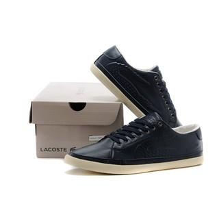 全新正品lacoste鱷魚 男鞋 頭層皮 休閒運動鞋