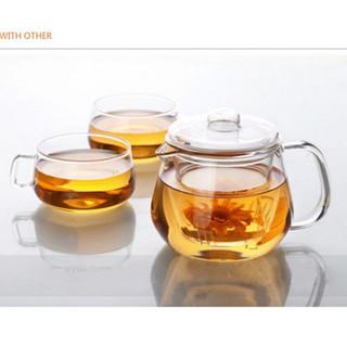 加厚耐熱高溫玻璃花茶壺 泡茶壺花茶壺玻璃帶過濾花茶壺