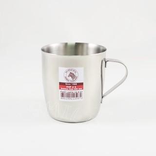 斑馬不鏽鋼杯兒童杯水杯200ml口杯附把手