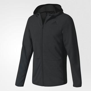 10/11 代購 ADIDAS Climacool Workout Hoodie 黑色 保暖透氣 連帽外套 BK1087