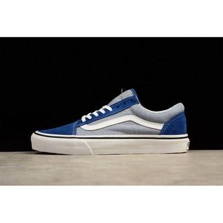 《CX潮流》Vans 中筒藍灰 Old Skool VN-0VOKC4P