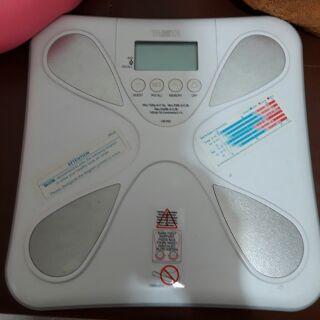 TANITA體脂體重計